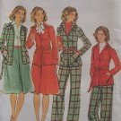 Butterick 4440 A-Line Skirt Jacket Straight Leg Pants Pattern Uncut Size 12 Vintage 70s