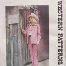 Vintage Authentic Patterns 268 Ladies' Western Shirt Jacket Sewing Pattern Uncut Size 12 1970's