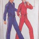 Vintage 70s Butterick 5199 Retro Jogging Suit Pattern Uncut Size 8-10 Jacket Pants