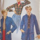 Vintage 70s Butterick 5210 Narrow Collar Shirt and Jacket Pattern Uncut Size 12