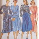 Vintage Butterick 5665 Keyhole Slit Tunic Top Flared Skirt Pattern Uncut Size 12 Jones New York