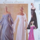 McCall's 3535 Empire Waist Evening or Bridal Dress Pattern Uncut Size 16-22