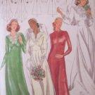 Vintage 70s Butterick 5532 Bridal Gown Bridesmaid Dress Pattern Uncut Size 16