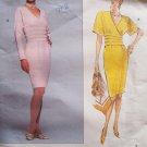 Vogue 2674 American Designer Nipon Boutique Dress Pattern Uncut Size12-16 Fitted Skirt Shirred Waist