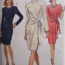 Vogue 8226 Fitted Straight Dress Pattern Long or Short Sleeve Uncut Size 8-12