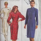 Butterick 4069 Kathryn Conover Dropped Waist Dress Pattern Retro 80s Uncut Size 12-16