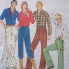 Vitnage70's Butterick 5148 Straight Leg Cargo Pants Pattern Uncut Size 26 ½