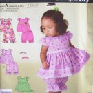 Simplicity 2982 Baby Girl's Summer Top Pantaloons and Headband Pattern Uncut Size XXS-L