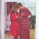 Vintage 70s Butterick 4502 Front Button Nightshirt Pattern Uncut Size 12-14 Long Sleeve