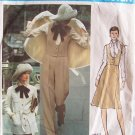 Vintage Vogue 2657 Valentino Couturier Design Jacket Pants Skirt and Vest Pattern Size 10