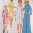 Vintage 70s Simplicity 7238 Long or Short Robe Pattern Raglan Sleeve Uncut Size 12