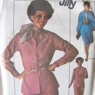 Vintage 70's Simplicity 7703 Shirt Jacket Pants and Skirt Pattern Uncut Size 12 Bust 34