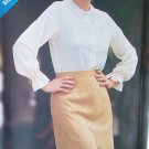 Vintage 80s Butterick 3275 Lace Collar Long Sleeve Blouse Pattern Uncut Size 8-12