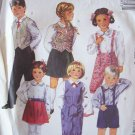 Retro 80's McCall's 4565 Children's Vest Skirt Pants Knickers and Shorts Pattern Uncut Size 5