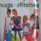 Simplicity 7728 Girl's Leggings or Shorts and Summer Top Pattern Uncut Size 12-14