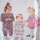 Simplicity 7594 Toddler Girl's Romper Dress and Bloomers Pattern Uncut Size 2-4