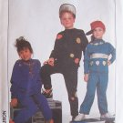 Retro 80's Simplicity  8775 Boy's and Girls Sweatshirt and Pull On Pants Pattern Uncut Size SM