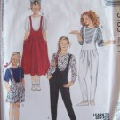 Easy McCall's 5185 Girl's Romper Jumper Jumpsuit Pattern Uncut Size 7 Retro 80's Style