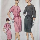Vintage 60s Simplicity 6282 Kimono Sleeve Dress Pattern Slim Skirt Uncut Size 20 ½ B41