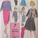 Vintage 60s Advance 2978 Wiggle Dress Or Full Skirt Box Jacket Pattern Uncut Size 14
