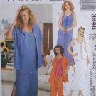 McCall's 3946 Summer Dress Skirt Shirt Top Pants Pattern Plus Size 18W-24W Uncut