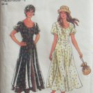 Simplicity New Look 6206 Scoop Neck Flared Skirt Summer Dress Pattern Uncut Sizes 8-18