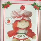 Vintage 80s Butterick 6173 Strawberry Shortcake Doll and Clothes Pattern Uncut