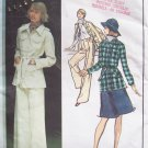 Vintage Vogue 2802 Ungaro Paris Original Jacket Skirt and Pants Pattern Uncut Size 12