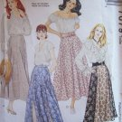 McCall's 7079 Gored or Semi Circle Skirt Pattern Uncut Size 8-12