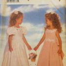 Butterick 4310 Girl's Flower Girl or Party Dress and Petticoat Pattern Uncut Size 2-4