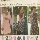 Simplicity 9603 Princess Seam Flared Back Dress Pattern Uncut Size Petite12-16