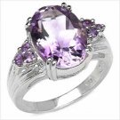 Windsor Sterling 2.62CTW AMETHYST .925 RING