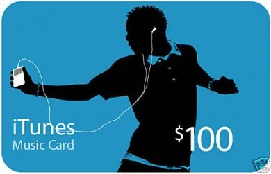 iTunes Gift Card Authorization Code $100 Music USA only (100% real goods)