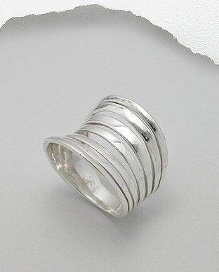 silver loop ring
