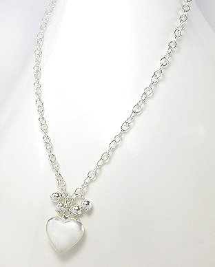 hearts and baubles necklace