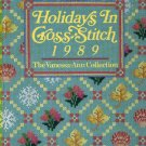 Holidays In Cross Stitch 1989 The Vanessa-Ann Collection Patterns Book