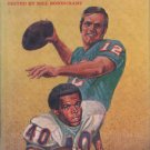 Offensive Football Bob Griese Gayle Sayers Bill Bondurant vintage football book