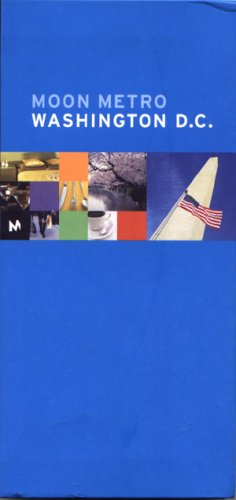 Moon Metro Travel Guide Washington D.C. sightseeing book maps