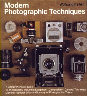 Modern Photographic Techniques Wolfgang Freihen vintage photography book