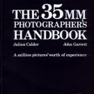 The 35mm Photographer's Handbook Julian Calder & John Garrett Vintage Photography Book