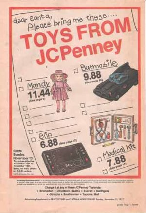 1977 JC Penney Toy Flier