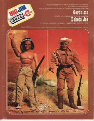 1977 Big Jim Catalog from Congost Spain
