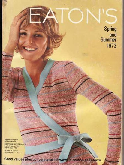 1973 Eaton's Spring and Summer Catalogue