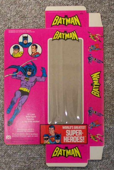 "Mego Original 12"" Batman Box from World's Greatest Superheroes"