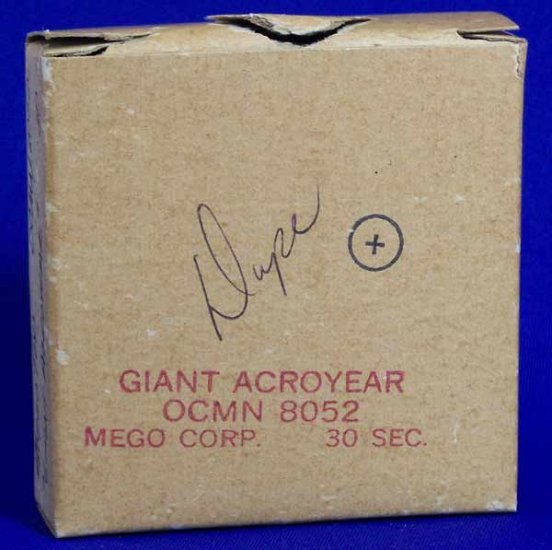 Mego Giant Acroyear Micronauts Commercial Original 16mm Film