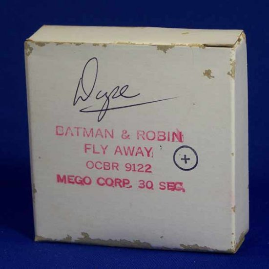 Mego Batman and Robin Action Figure Commercial Original 16mm Film