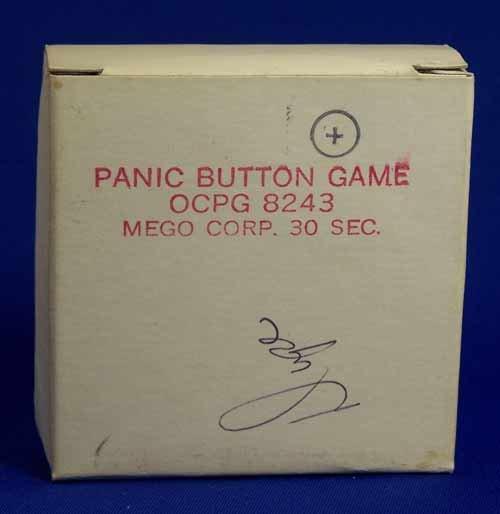 Mego Panic Button Game Commercial Original 16mm Film