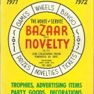 1971 Bazaar and Novelty Catalog carnival stuff trophies
