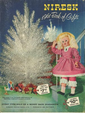 1961 Niresk Book of Gifts Catalog Toys