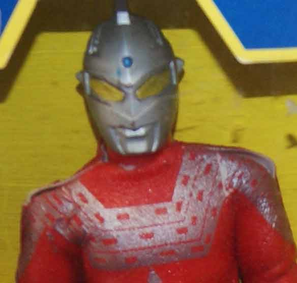 Mego Popy UltraSeven Doll MIB Rare Japan Ultraman